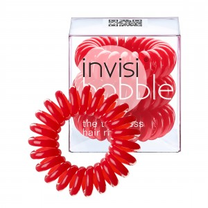 Buy Invisibobble Hair Ring - Rasberry Red - Pack Of 3 - Nykaa