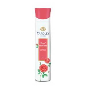 Buy Yardley Red Roses Deodorant - Nykaa