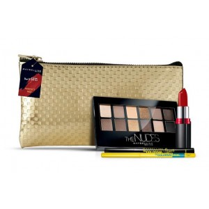 Buy Maybelline Glam On The Go Kit - Red - Nykaa