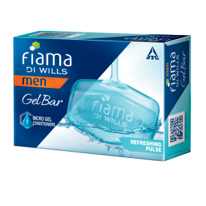Buy Fiama Di Wills Men Refreshing Pulse Gel Bar - Nykaa
