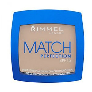 Buy Rimmel Match Perfect Cream Compact Foundation SPF 15  - 201 Classic Beige - Nykaa