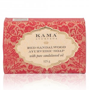 Buy Kama Ayurveda Red Sandalwood Ayurvedic Soap - Nykaa