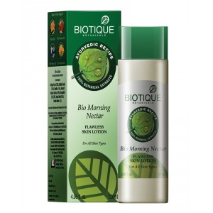 Buy Herbal Biotique Bio Morning Nectar Flawless Skin  Lotion - Nykaa