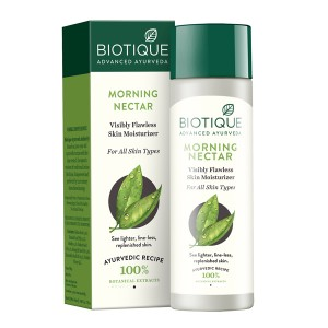 Buy Biotique Bio Morning Nectar Flawless Skin Moisturizer - Nykaa