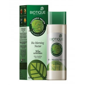 Buy Biotique Bio Morning Nectar Ultra Soothing Face Lotion SPF 30 UVA/UVB - Nykaa