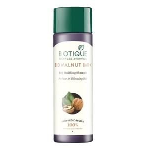 Buy Biotique Bio Walnut Bark Body Building Shampoo for Fine & Thinning Hair - Nykaa