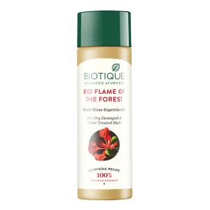 Buy Biotique Bio Flame Of The Forest  Fresh Shine Expertise Oil - Nykaa