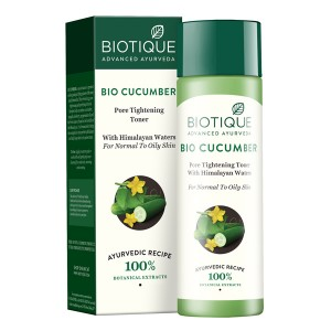 Buy Biotique Bio Cucumber Pore Tightening Toner - Nykaa