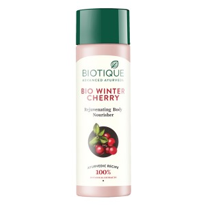 Buy Biotique Bio Winter Cherry Rejuvenating Body Nourisher - Nykaa
