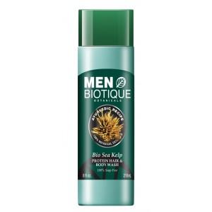 Buy Biotique Bio Sea Kelp Protein Hair & Body Wash - Nykaa