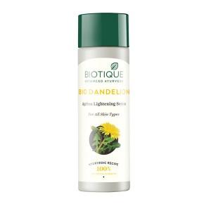 Buy Biotique Bio Dandelion Ageless Lightening Serum - Nykaa