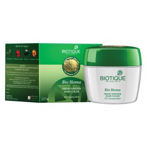 Buy Biotique Bio Henna Fresh Powder Hair Colour - Nykaa