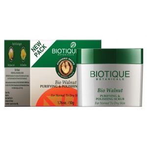 Buy Biotique Bio Walnut Purifying & Polishing Scrub - Nykaa