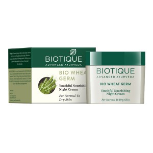 Buy Biotique Wheat Germ Youthful Nourshing Night Cream - Nykaa