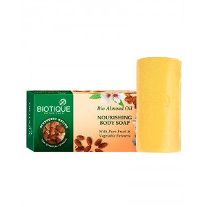 Buy Biotique Almond Oil Nourishing Body Soap - Nykaa
