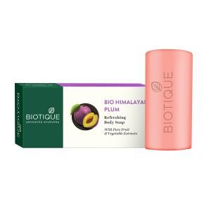 Buy Biotique Himalayan Plum RefreshingBody Soaps - Nykaa