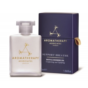 Buy Aromatherapy Associates Support Breathe Bath and Shower Oil - Nykaa