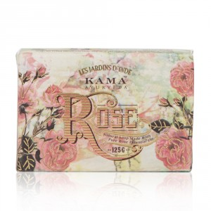 Buy Kama Ayurveda Natural Rose Soap - Nykaa
