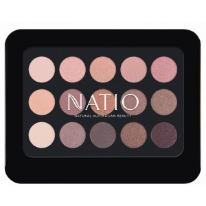 Buy Natio Natural Shades Eyeshadow Palette - Rosebud - Nykaa