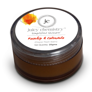 Buy Herbal Juicy Chemistry Rosehip Oil & Calendula (Diaper Rash Balm) - Nykaa