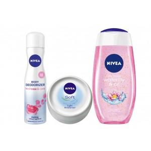 Buy Nivea Roses & Lilies Combo - Nykaa