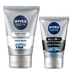 Buy Nivea For Men Advanced Whitening Dark Spot Reduction Face Wash + Free Nivea Men Face Wash Worth Rs 99/- - Nykaa