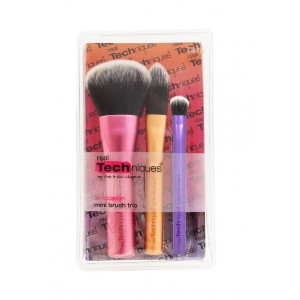 Buy Herbal Real Techniques Mini Brush Trio - Nykaa