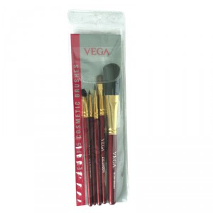Buy Vega Set Of 5 Brushes (Color May Vary) - Nykaa