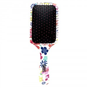 Buy Roots Wotta Brush Floral Bliss Paddle Brush - Nykaa