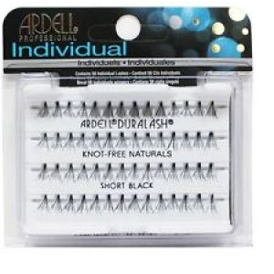 Buy Ardell Individual Knot Free Short Black Eye Lashes - Nykaa