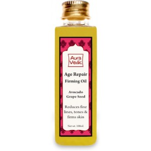 Buy AuraVedic Age Repair Firming Oil with Avocado Grape Seed - Nykaa