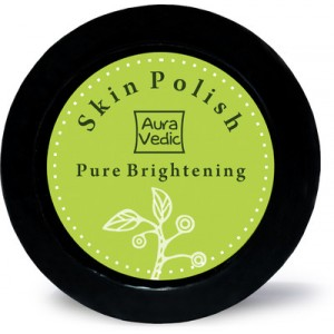 Buy AuraVedic Pure Brightening Skin Polish with Amla Tamarind Scrub - Nykaa