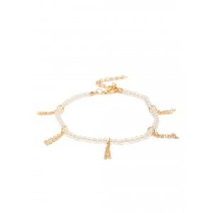 Buy Toniq Gold Cupid Anklet - Nykaa