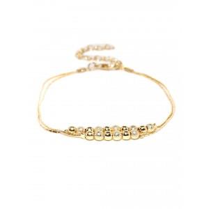 Buy Toniq Gold Dream On Anklet - Nykaa