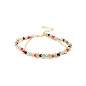 Buy Toniq Multicolor Diva Anklet - Nykaa