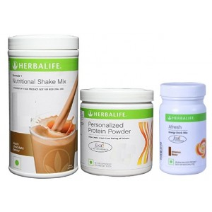 Buy Herbalife Weight Loss Combo - Dutch Chocolate Protein Powder & Afresh Cinnamon - Nykaa