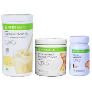 Buy Herbalife Weight Loss Combo - French Vanilla Protein Powder & Afresh Cinnamon - Nykaa