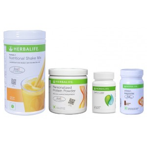 Buy Herbalife Weight Loss Pack - Mango, Cell-U-Loss, Protein Powder & Cinnamon - Nykaa