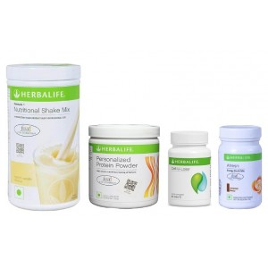 Buy Herbalife Weight Loss Pack- French Vanilla, Cell-U-Loss, Protein Powder & Cinnamon - Nykaa