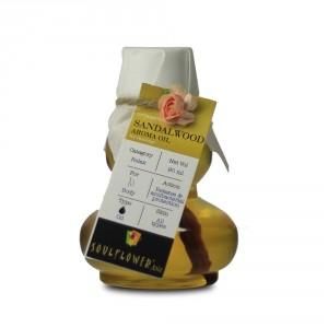 Buy Soulflower Sandalwood Aroma Massage Oil - Nykaa