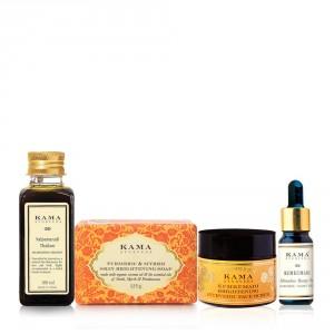 Buy Kama Ayurveda Skin Brightening Regime - Nykaa