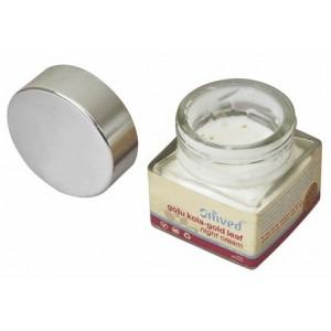 Buy Omved Gotu Kola Gold Leaf Night Cream - Nykaa