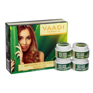Buy Vaadi Herbals Anti-Acne Aloe Vera Facial Kit - Nykaa