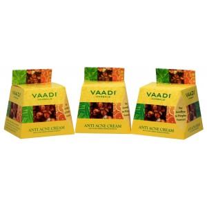 Buy Vaadi Herbals Value Pack Of 3 Anti-Acne Cream - Clove & Neem Extract - Nykaa