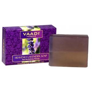 Buy Vaadi Herbals Heavenly Lavender Soap With Rosemary Extract - Nykaa