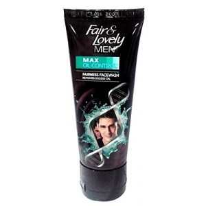Buy Fair & Lovely Men Max Oil Control Fairness Face Wash - Nykaa