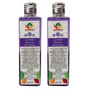 Buy Satveda Lavender & Aloevera Face Wash - Pack Of 2 - Nykaa
