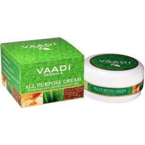 Buy Herbal Vaadi Herbals All Purpose Cream With Aloe Vera, Honey & Manjistha - Nykaa