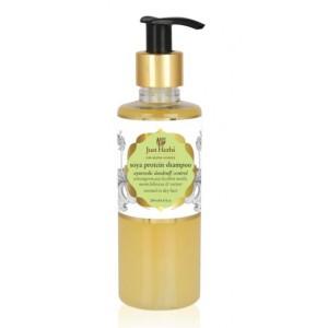 Buy Herbal Just Herbs Dandruff Control Ayurvedic Soya Protein Shampoo - Nykaa