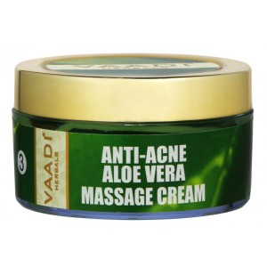 Buy Vaadi Herbals Aloe Vera Massage Cream With Jojoba Oil & Shea Butter - Nykaa